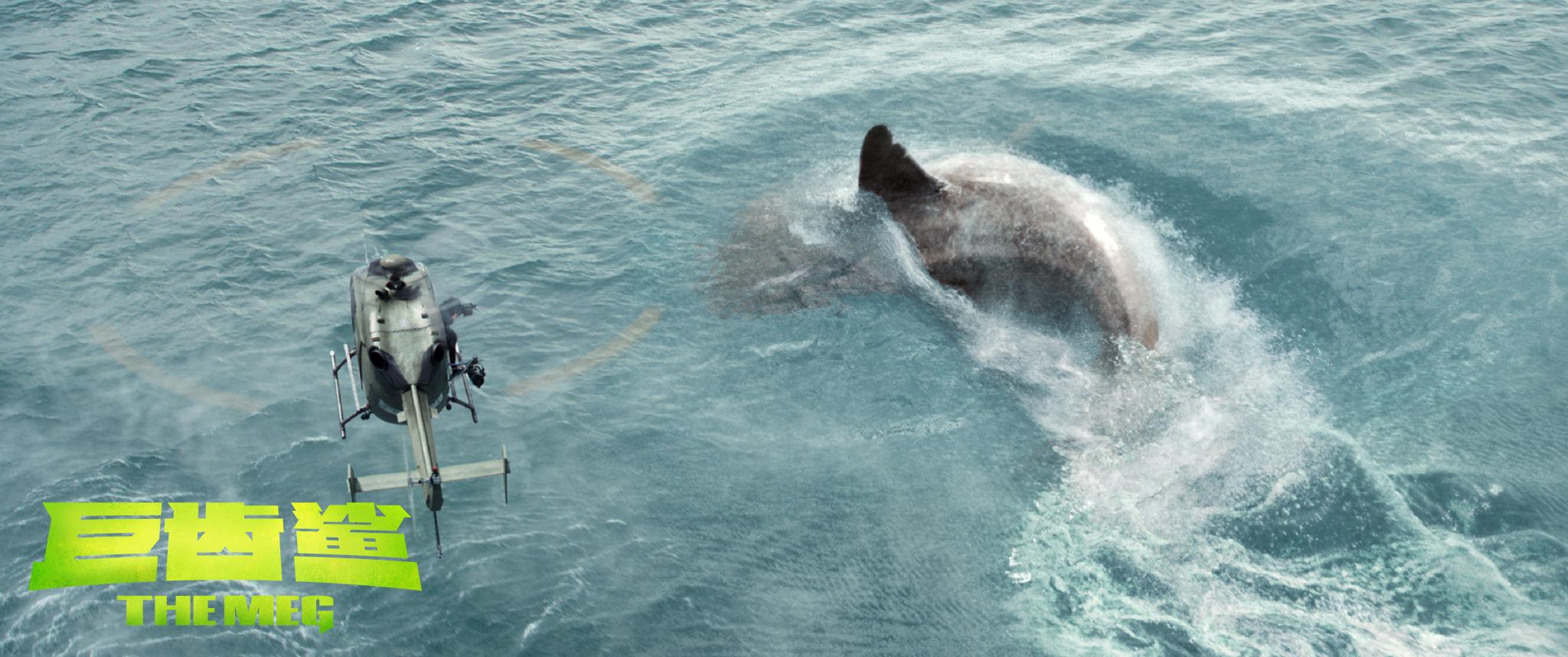 鲨鱼又来了!CMC Inc.华人文化最强合拍片《巨齿鲨》本周末重映  之后,一大波新片在路上……